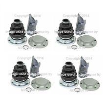 4 Rear For BMW E23 E24 E28 E32 E34 530i 740iL 750iL L6 L7 M5 CV Joint Boot Kit