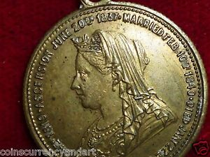 1902 King Edward and Queen Victoria Medal