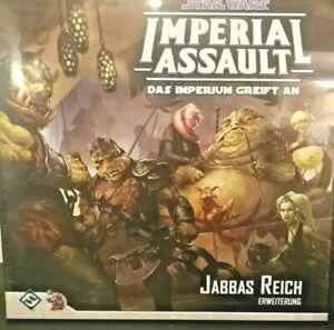 Imperial Assault Jabbas Reich deutsch gebraucht guter Zustand