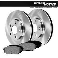 Front Brake Rotors + Metallic Pads For 2010 2011 2012 2013 Ford Transit Connect