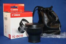 Canon TC-DC10A Tele-converter New boxed with caps and matching case. Superb.....
