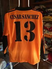 Camiseta Futbol Real Madrid Cesar Sánchez Valladolid Valencia Zaragoza Champions