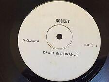 "DRUICK & LORANGE - - Rare Australian TEST PRESS / PROMO 12"" LP Misprint Error"