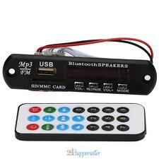 Bluetooth USB SD TF FM MP3 Audio Player Module WMA Board Speaker Remote Control