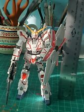 Hg 1/144 Unicorn Gundam Titanium Finish (Already Built) READ DESCRIPTION
