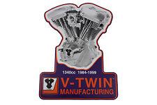 1340 Evolution Engine Plaque For Harley-Davidson