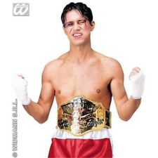 Plastic Wrestling Belt - Champion Fancy Dress Heavyweight Boxing Gold Winner