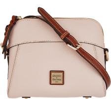 Dooney & Bourke Pebble Leather Crossbody - Blush