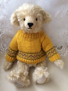 **Teddy Clothes**  New Hand Knitted Fair isle Jumper