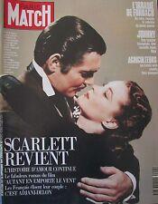 PARIS MATCH de 1991 SCARLETT O HARA TORERA MARIE-SARA JOHNNY HALLYDAY DARD