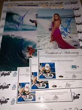 CARISSA MOORE SIGNED AUTOGRAPHED 8X10 SURFING SURF PHOTOGRAPH-PROOF COA HAWAII