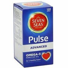 120 Seven Peas Pulse Advanced Omega-3 120 Capsules Bbe 03/2023