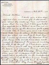 1898 Deadwood Dakota - SUPERB Black Hills Mining Letter - Survivor Mine -  Stock