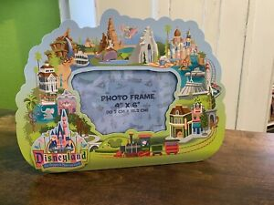 Disneyland- The Happiest Place on Earth Photo Frame - Holds 4x6 Photo - New