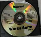 Microsoft+Office+Windows+Works+Suite+2003+CD+for+PCs