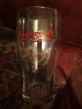 Budweiser Budvar Straight Pint Glass