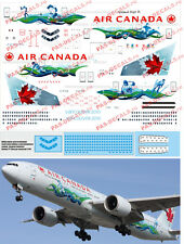 1/144 Boeing 777-300 PAS-DECALS Rus-Air Zvezda Air Canada Vancouver 2010