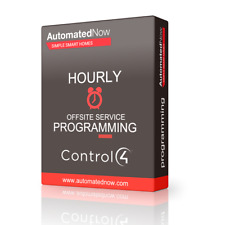 Control4 Certified Programming (Hourly)