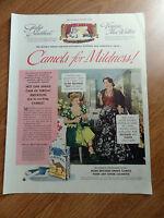 1949 Camel Cigarette Ad Opera Singers Gladys Swarthout Virginia Mac Watters