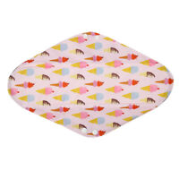 1 Overnight Washable Bamboo CHARCOAL Mama Cloth Menstrual Pad Icecream 14in XL
