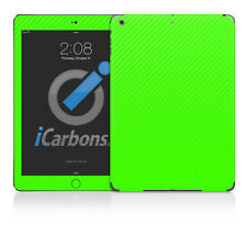 iPad Air Skin - Green Carbon Fibre skin by iCarbons