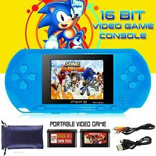 16 BIT PXP PVP GAMES CONSOLE HANDHELD PORTABLE 150 RETRO MEGADRIVE DS VIDEO GAME