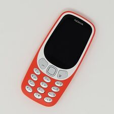 Nokia 3310 3G 2017 - Basic Phone - Red - Working Condition - Unlocked -Fast P&P