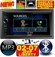 02 03 04 05 06 07 LIBERTY BLUETOOTH TOUCHSCREEN USB SD AUX CAR RADIO STEREO PKG