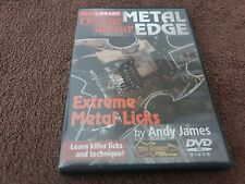 Lick Library: Extreme Guitar Metal Edge Extreme Tapping Techniques DVD