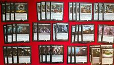 MTG Budget Modern Black Marionette Rogue Gonti Fabricate Deck Box Sleeves Magic