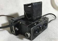 HEIDOSCOPE STEREO Camera w/ Magazine Back 6x13 cm (1925 - 1940)