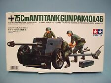 7.5Cm Anti-Tank Gun Pak40/L46 Tamiya Model Kit #35047-500