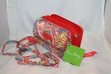Vera Bradley ALL IN ONE pink floral for iphone 6 PAISLEY IN PARADISE  crossbody