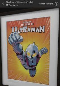 Veve NFT The Rise Of Ultraman #1 - Ed McGuinness FE#1398