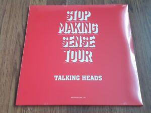 TALKING HEADS - STOP MAKING SENSE TOUR 1984 2LP COLOURED VINYL NEW SEALED