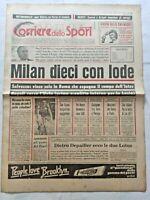 CORRIERE DELLO SPORT 30-4-1979 MILAN CAMPIONE D'ITALIA 10° SCUDETTO DELLA STELLA