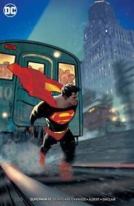 SUPER MAN #10 & #11 ADAM HUGHES VARIANTS COVERS 2 BOOK SET!