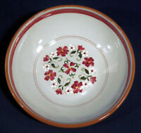 "Large 10"" Round Vegetable Bowl Stangl Pottery China Garland Excellent Cond. Wow!"