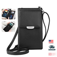 Small Crossbody Bag for Women, ifab Cell Phone Purse Wallet w/Credit Card Slots