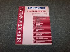 2005 Subaru Impreza Shop Service Repair Manual Section 7 Body RS TS 2.5L
