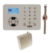 KP9 Sirena Wireless solo 200 - 400 Metri Allarme di Panico Braccialetto con pulsante antipanico