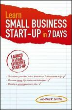 Learn Small Business Startup in 7 Days-ExLibrary