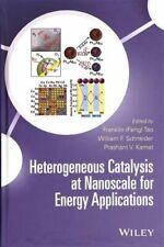 Heterogeneous Catalysis at Nanoscale for Energy, Tao, Schneider, Kamat+=