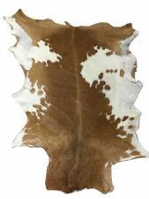 Goatskin Hide Leather Area Rug Carpet 6-8 Sq Ft