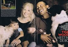 COUPURE DE PRESSE CLIPPING 2009 Tiger Woods   (4 pages) 1