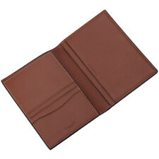 NWT Authentic Coach Premium Leather Passport Case