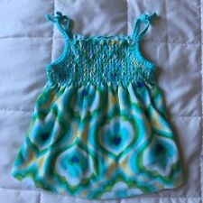 Baby GAP, Tank, Terry Material, Size 18-24 Months, Summer Top, Blue Hearts