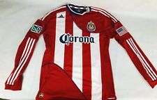 MLS Chivas USA Adidas 2010 Blair Gavin Player Issue Home Soccer Jersey Size L