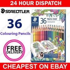 Staedtler Noris Club Coloured Pencils Set of 36 Johanna BASFORD Edition 144D36JB