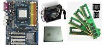 scheda madre mainboard Asrock am2nf3-vsta ddr2 am2 + cpu amd Athlon+ 4gb ram